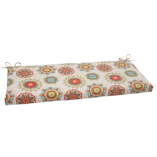 Pillow Perfect Outdoor Aqua Fairington Bench Cushion