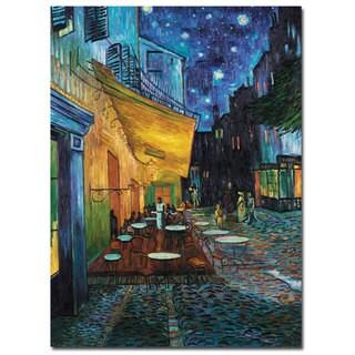 Vincent van Gogh Cafe Terrace Canvas Art