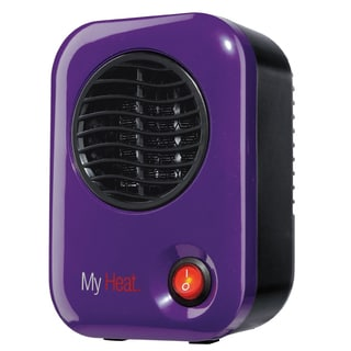Lasko 106 MyHeat Purple Personal Heater