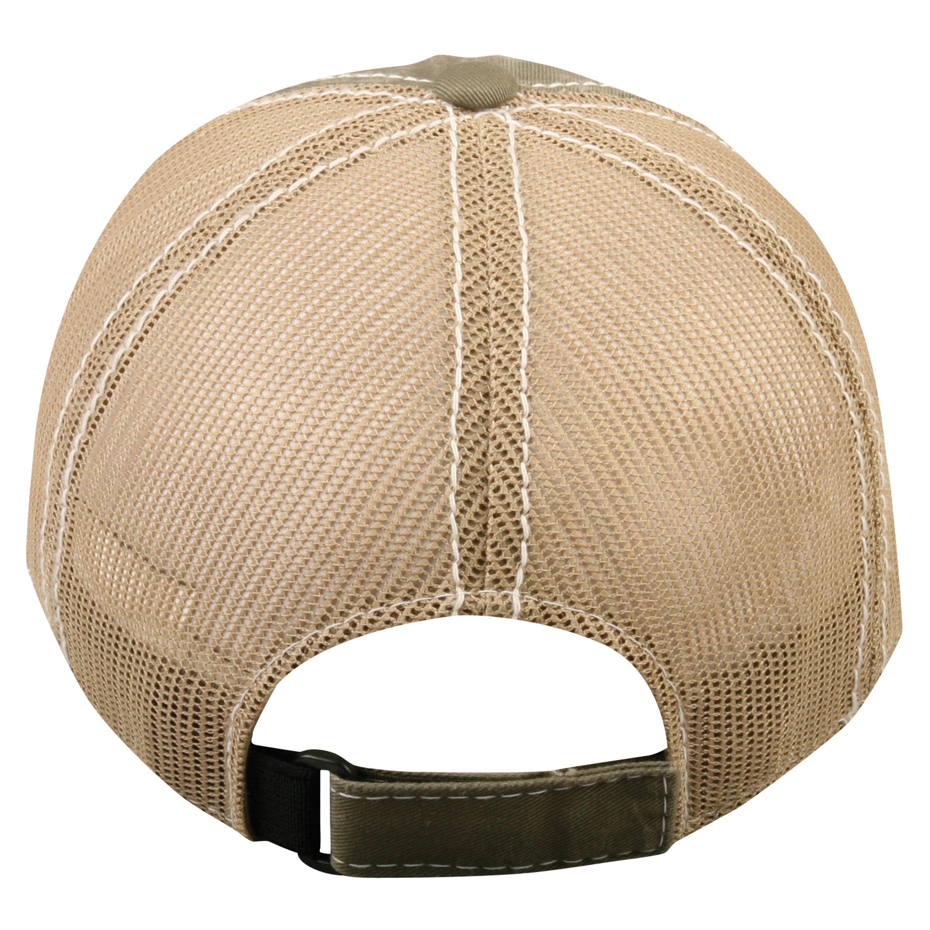 Outdoor Cap Bucketmouth Bass Mesh Back Mid Profile BAS-027