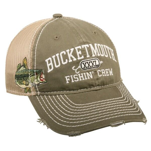 Bucketmouth Fishen' Crew Mesh Back Adjustable Hat