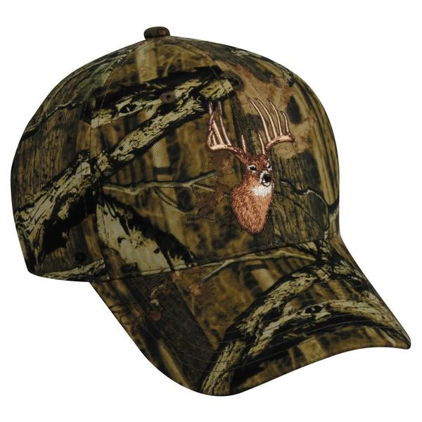 Mossy Oak Camo Deer Adjustable Hat