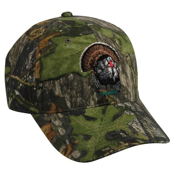 Mossy Oak Camo Turkey Adjustable Hat