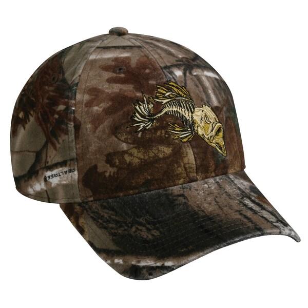 Realtree Camo Bonefish Adjustable Fishing Hat
