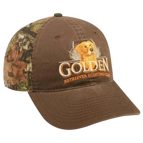 Mossy Oak Camo Golden Retriever Adjustable Hat