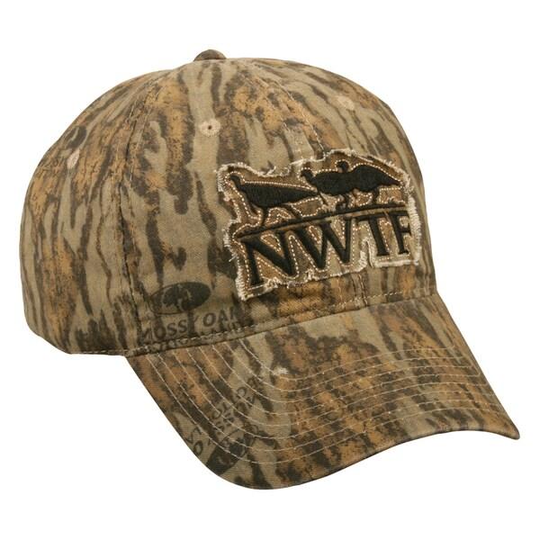 NWTF Mossy Oak Bottomlands Adjustable Hat