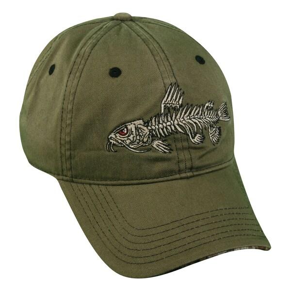 Bonefish Series Catfish Adjustable Hat