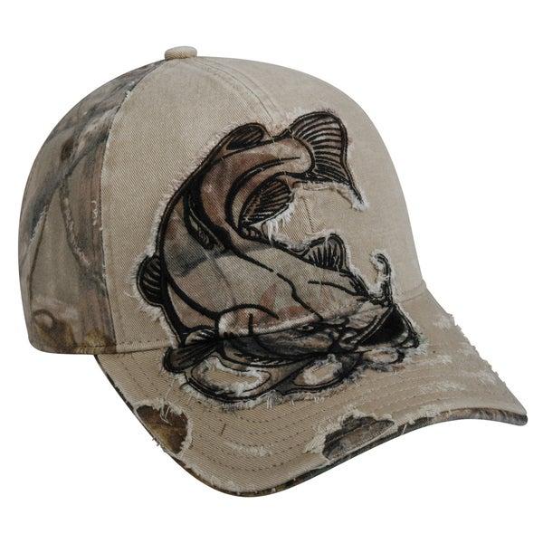 Catfish Camo Patch Adjustable Fishing Hat