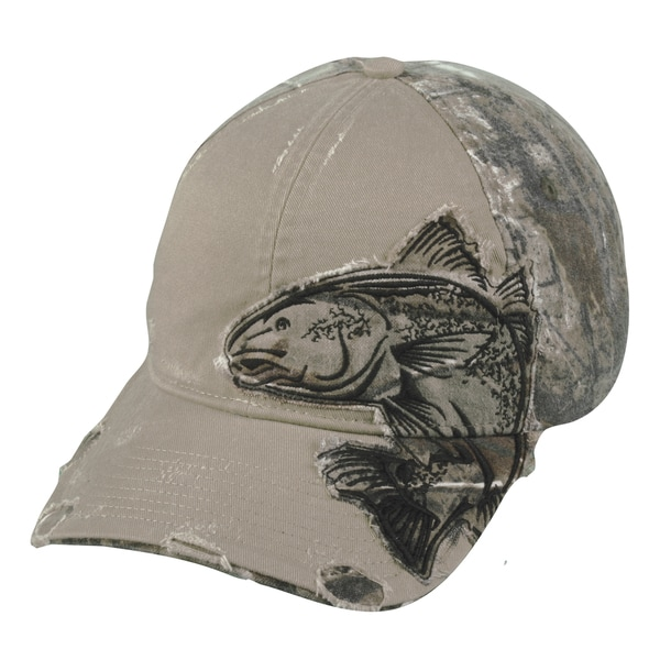 Redfish Camo Patch Adjustable Fishing Hat