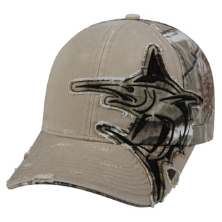 Marlin Camo Patch Adjustable Fishing Hat