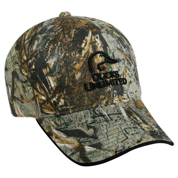 Ducks Unlimited Wax Camo Adjustable Hat