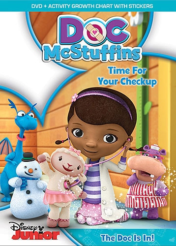 Doc McStuffins: Time For Check Up (DVD)