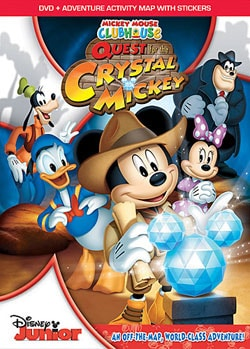 Mickey Mouse Clubhouse: Quest For The Crystal Mickey (DVD)