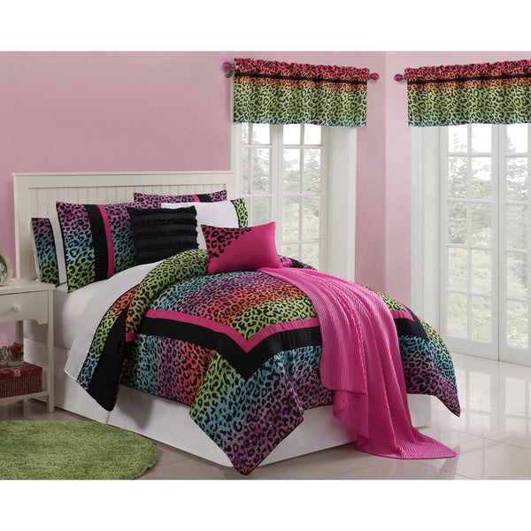 VCNY Leopard 13-piece Bed in a Bag Set