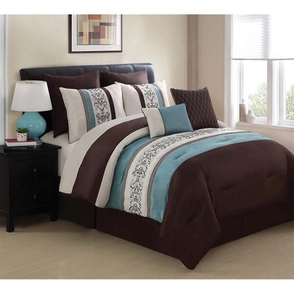 VCNY Florence 8-piece Comforter Set