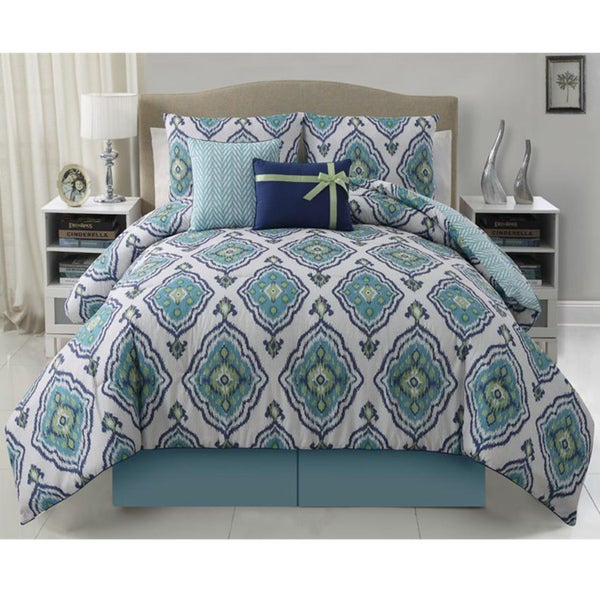 VCNY Weston 5-piece Reversible Comforter Set