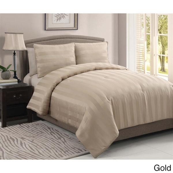 VCNY Dobby 3-piece Comforter Set