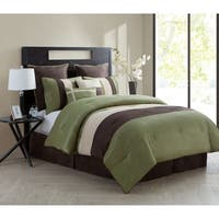 VCNY Hudson 8-piece Pleated Comforter Set