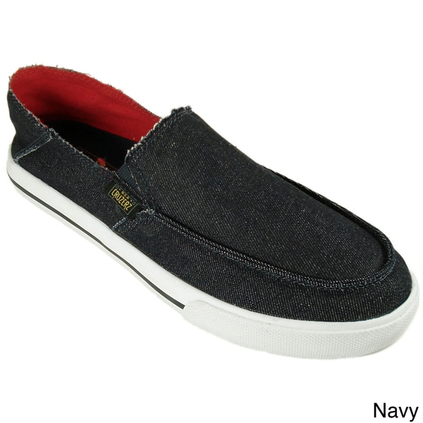 Cruzers Men's 'Drifter' Canvas Slip-on Shoes