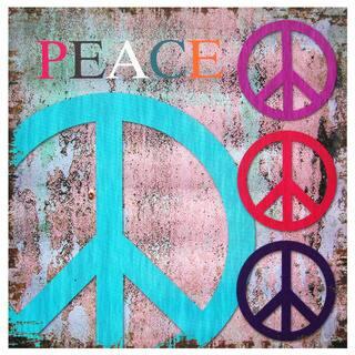 Handmade Peace Wall Art