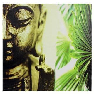Golden Buddha Canvas Wall Art