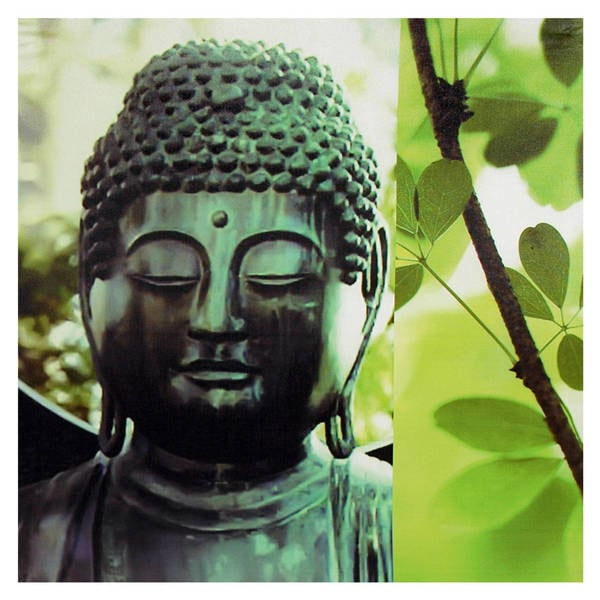 Shop Outdoor Buddha Canvas Wall Art Free Shipping On Orders Over