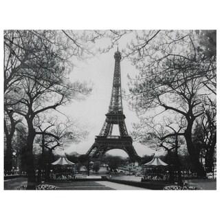 Eiffel Tower Park Canvas Wall Art