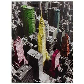 High-Lights of New York Canvas Wall Art