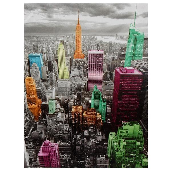 High-Lights of New York Skyline Canvas Wall Art