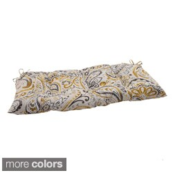 Pillow Perfect Outdoor/ Indoor Vermilya Tidepool Swing/ Bench Cushion