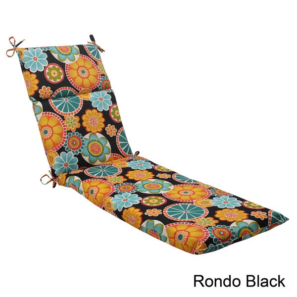 Pillow Perfect Outdoor Rondo Chaise Lounge Cushion