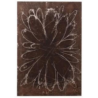 Abstract Flower Wall Art