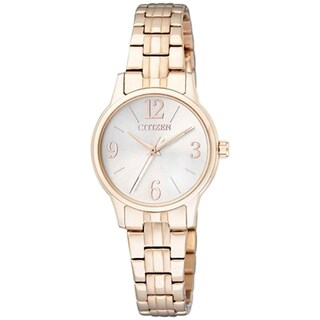 Citizen Women's Goldtone Mother of Pearl Dial Watch