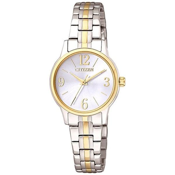 Citizen Women's Classic Quartz EX0294-58H Two-Tone Stainless-Steel Quartz Watch with White Dial