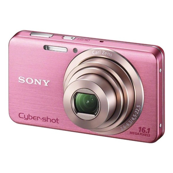 Sony Cyber-shot DSC-W630 16.1MP Pink Digital Camera