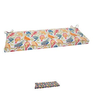 Pillow Perfect Ash Hill Polyester Outdoor Bench Cushion