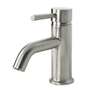 European Brushed Nickel Single Hole Bathroom Faucet