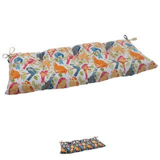 Pillow Perfect Outdoor/ Indoor Ash Hill Swing/ Bench Cushion