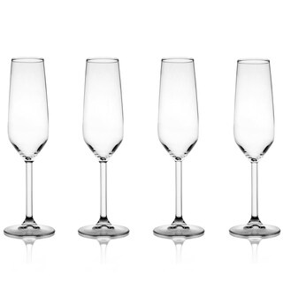Fifth Avenue Crystal Napa 6.4-ounce Champagne Glasses (Set of 4)