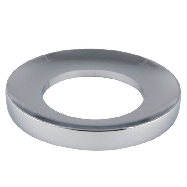 Chrome Finish Mounting Ring for Bathroom Sinks
