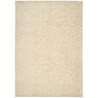 Kailash Animal Print Ivory Rug (5'3 x 7'5)