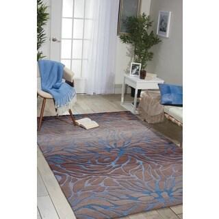 Nourison Contour Ocean Sand Rug (8' x 10'6)