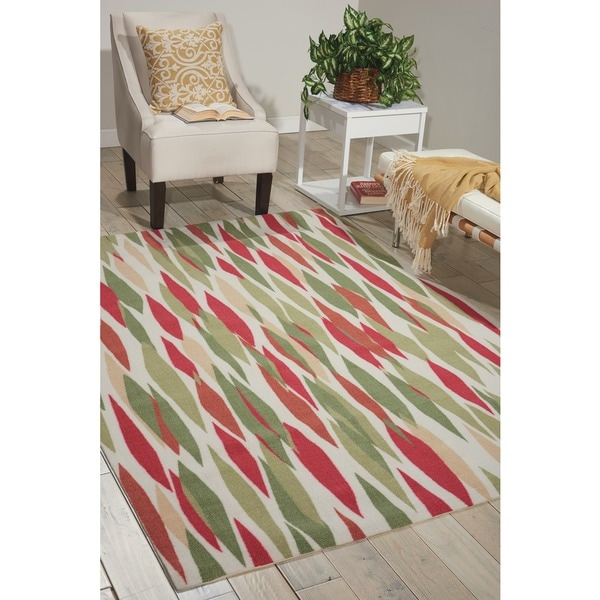 Waverly Sun N' Shade Bits & Pieces Blossom Area Rug by Nourison - 7'9 x 10'10