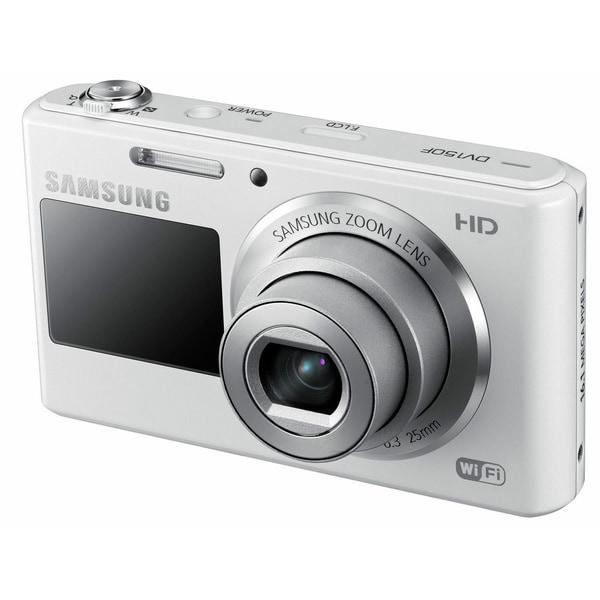 Samsung DV150F 16.2MP White Digital Camera
