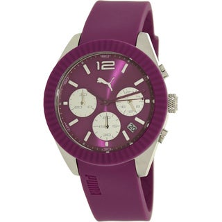Puma Women's Purple Chronograph Watch