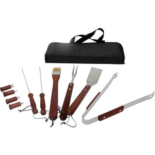 KitchenWorthy 11-piece BBQ Tool Set