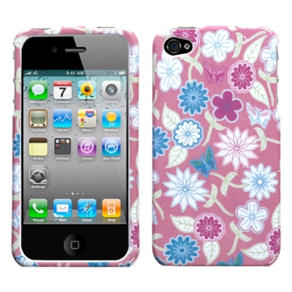 INSTEN Stitching Garden Phone Case Cover for Apple iPhone 4/ 4S