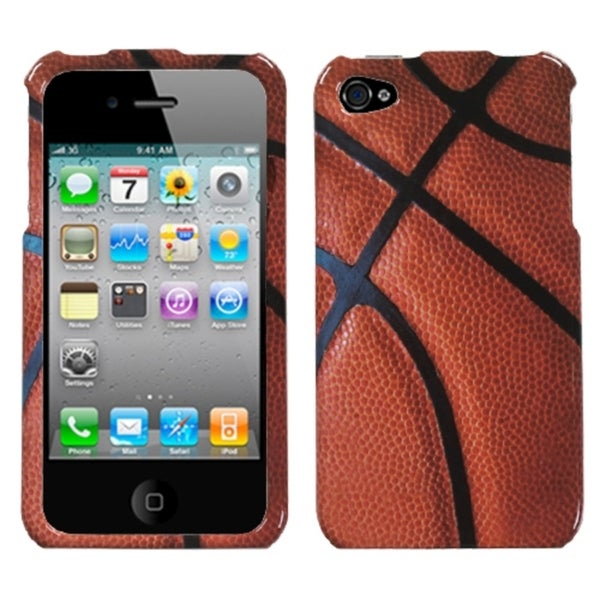 INSTEN Basketball - Sports Collection Phone Case Cover for Apple iPhone 4/ 4S