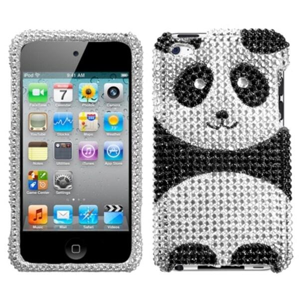 MYBAT Playful Panda Diamante Case for Apple iPod Touch Generation 4