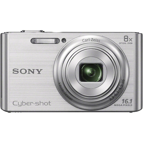 Sony Cyber-shot DSC-W730 16MP Silver Digital Camera